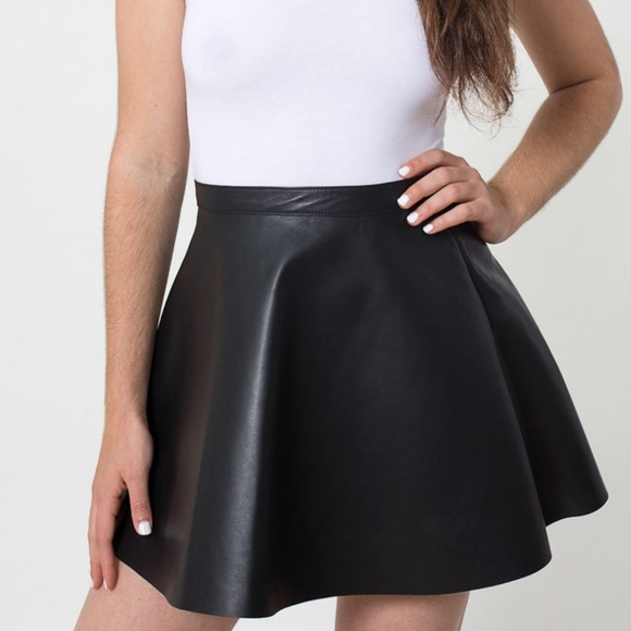 perfect quality variety design coupon codes American Apparel Leather Circle Skirt